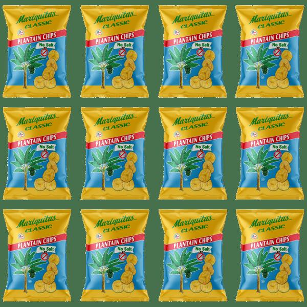 Image of Mariquitas Plantain Chips No Salt (5oz, 12 pack)