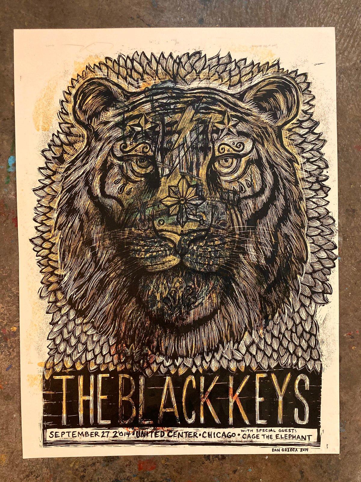 Test Print Black Keys 2021 E