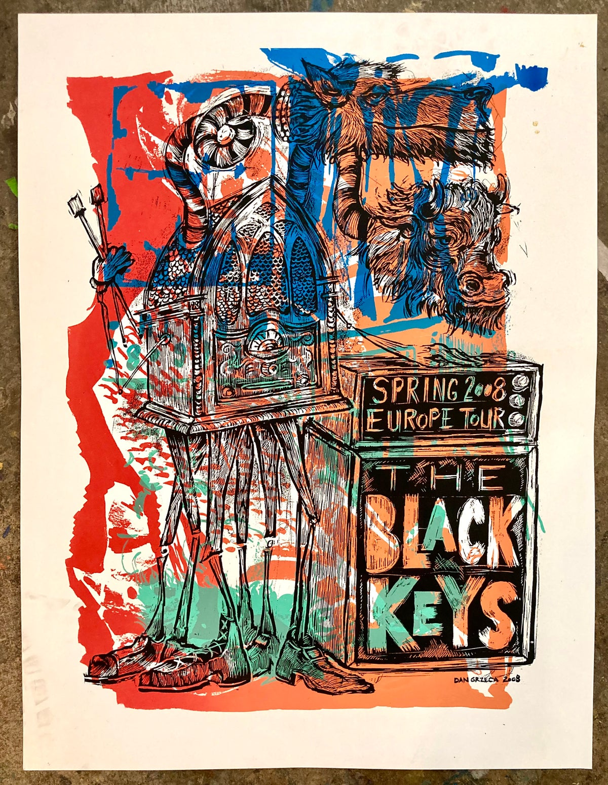Test Print Black Keys H