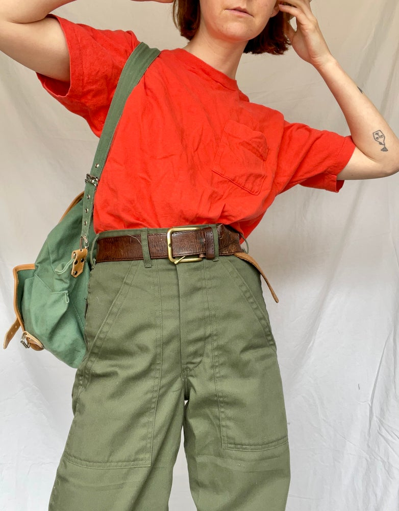 Image of 70's Basic Tee with Pocket
