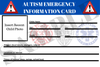 Auto Emergency ID Cards