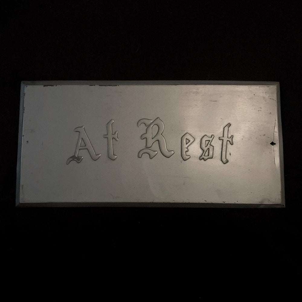 Image of  Coffin  Plate