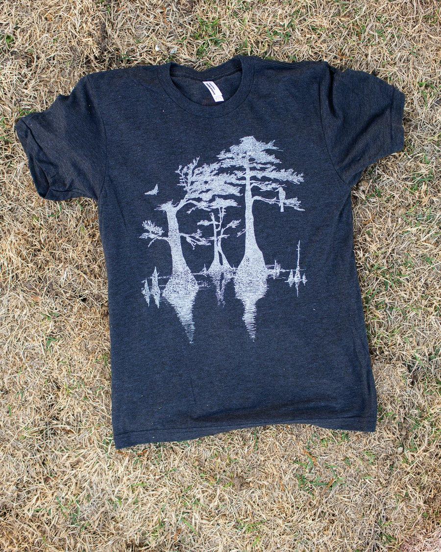 Image of Adult Cypress Tree Short Sleeve Tee