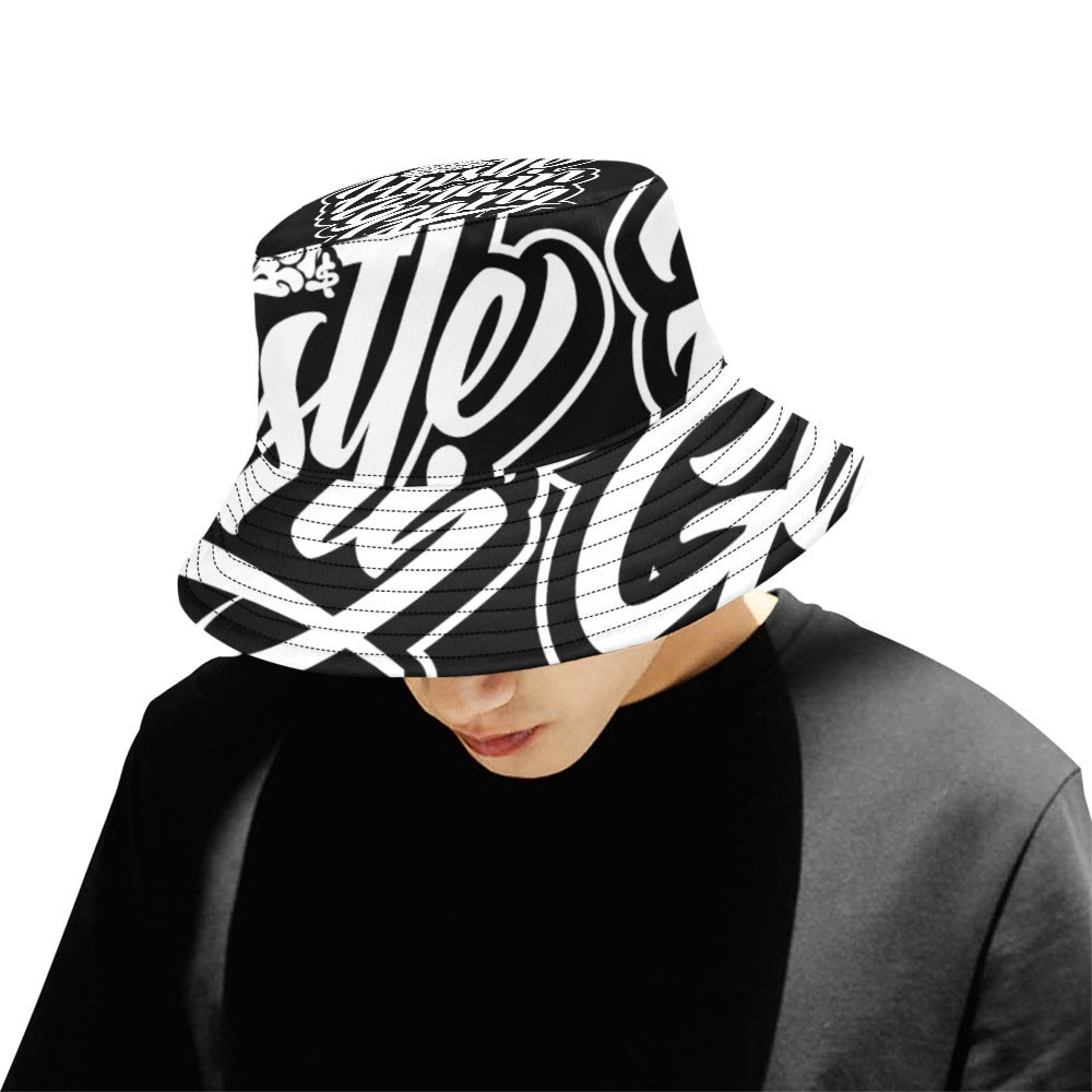 Image of Hustle Memory  Men's Bucket Hat