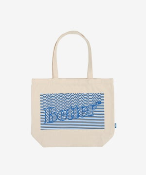 Image of BETTER™ GIFT SHOP_BETTER™ DOTS TOTE :::NATURAL:::
