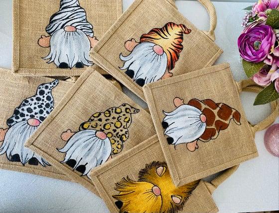 Image of Animal print gnome bag