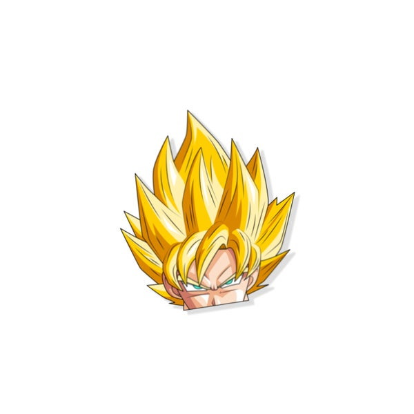 Image of Goku/Vegeta Lenticular peeker