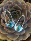 Kingman Turquoise Insect Earrings
