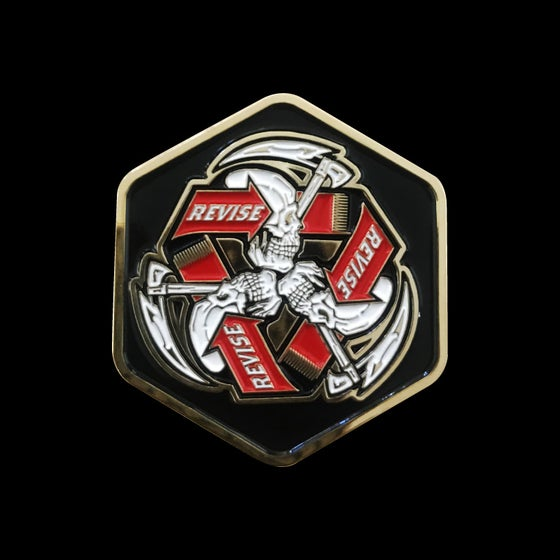 Image of Revision Hell Challenge Coin