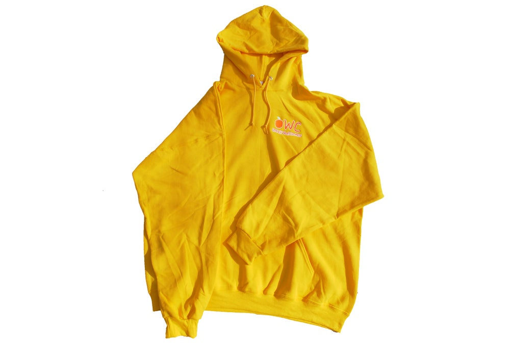Image of Yellow [PRE ORDER] EMBROIDERED Hoodie