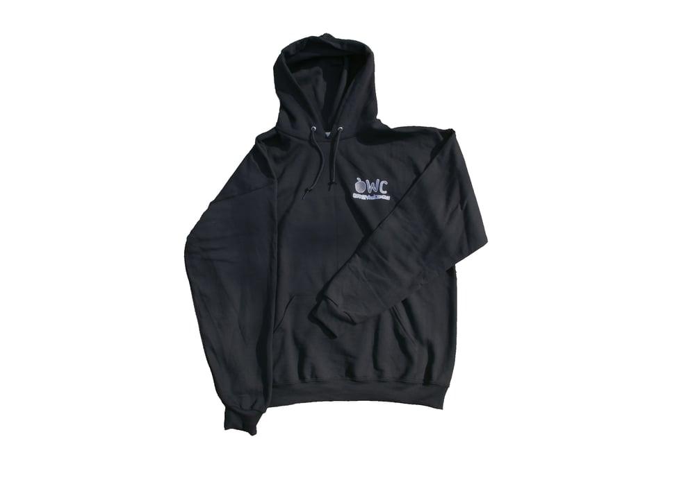 Image of BLACK [PRE ORDER] EMBROIDERED Hoodie