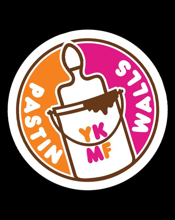 Image of Pastin Walls sticker