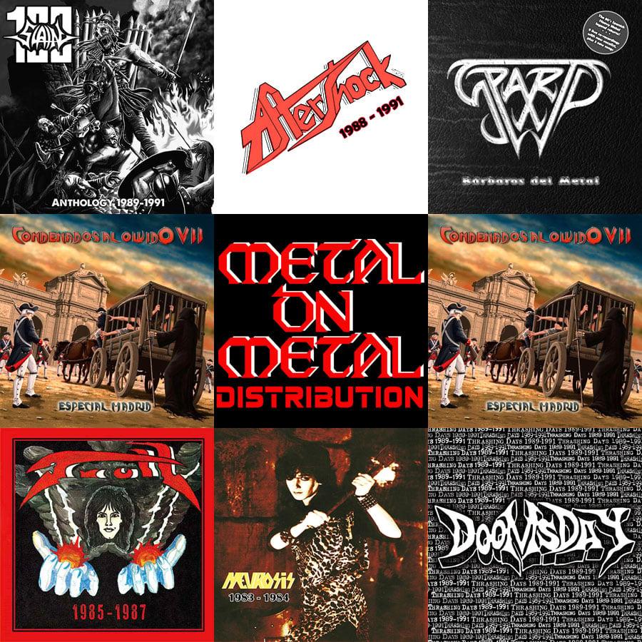 SPANISH 80's metal CDs