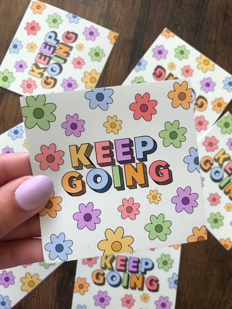 "Image of ""Keep Going"" Magnet"