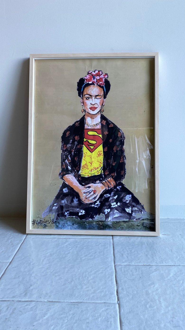Image of Lediesis' Frida con cornice