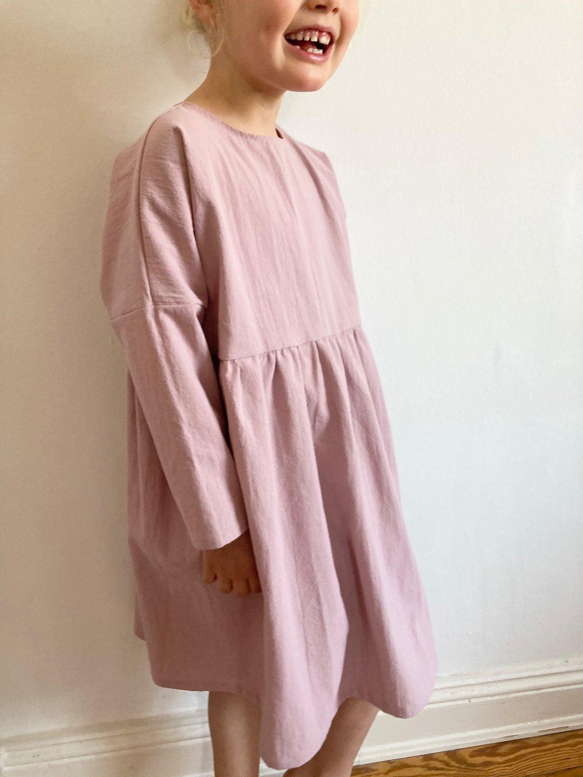 Rosa Dress-mauve