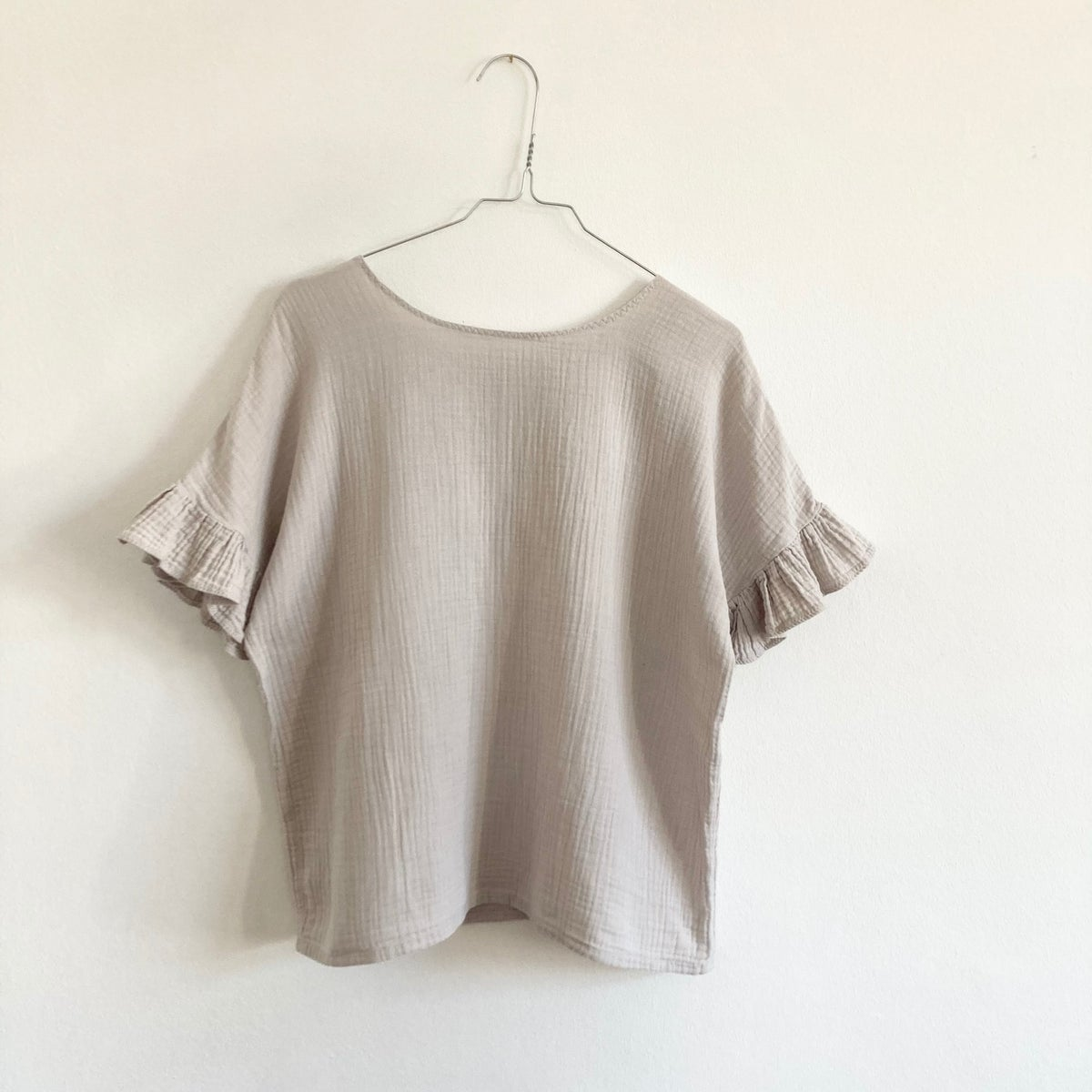Jonna Blouse- greige WOMAN