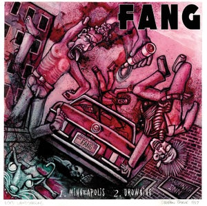 "Image of Fang / Let It Bleed - 7"" SPLIT BLACK VINYL - ONLY"