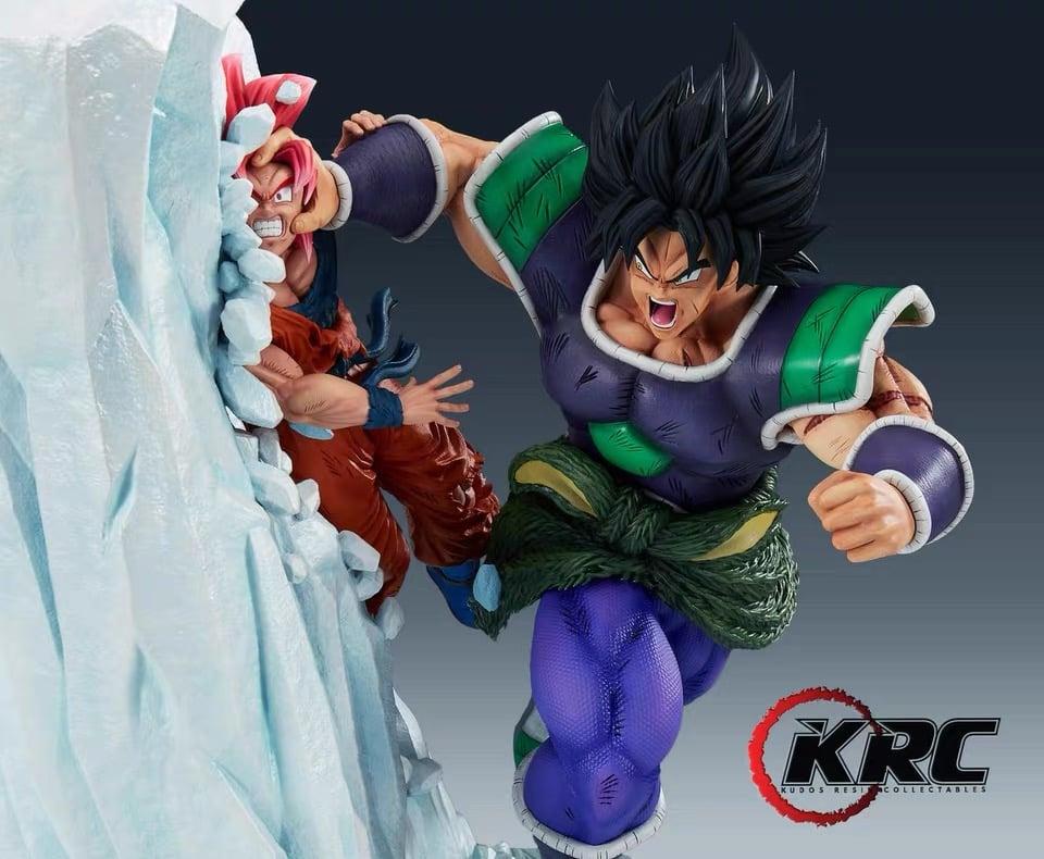 Image of [In-Stock]Dragon Ball KRC Broly Vs Goku 1:6 Resin Statue
