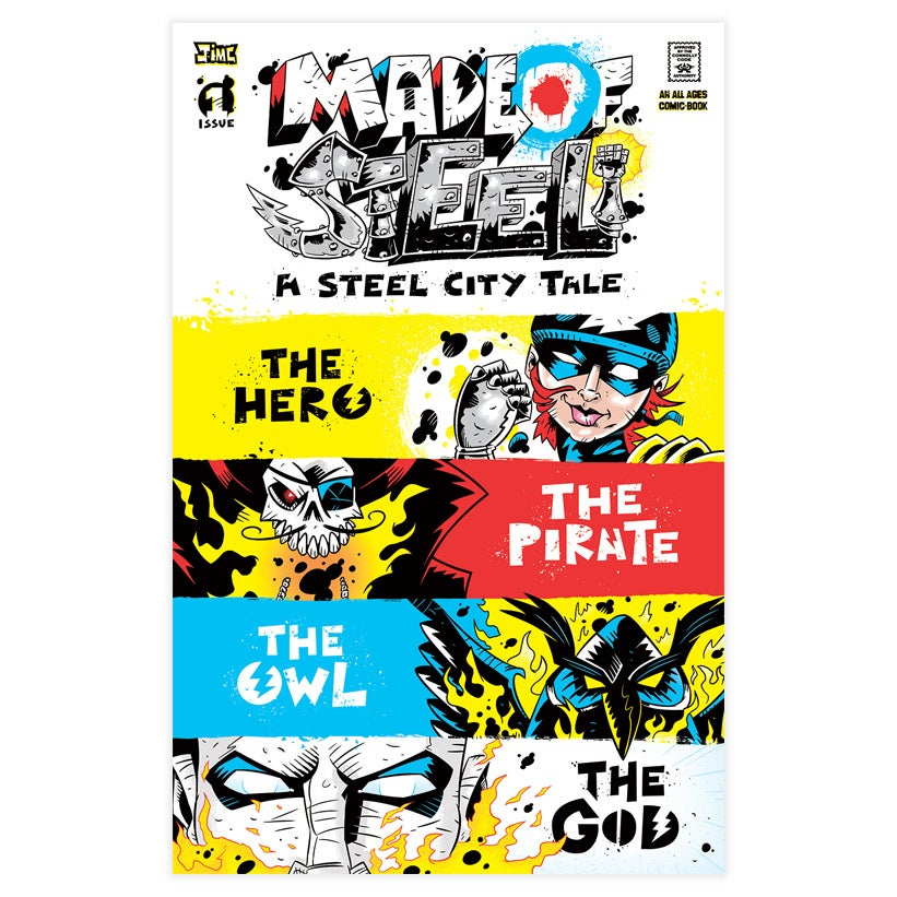 Image of MADE OF STEEL - Issue #1