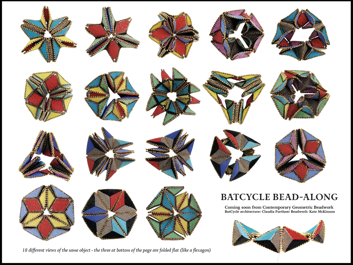 Image of BatCycle Bead Kit : A fundraiser for our Fellowships and Stipends Fund