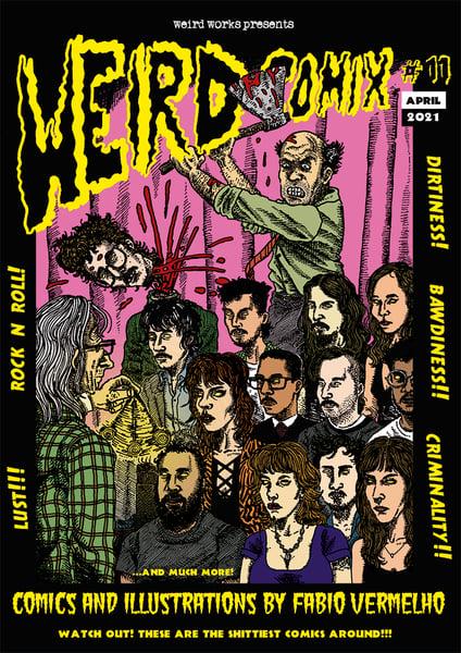Image of [PRE-ORDER] Weird Comix #11