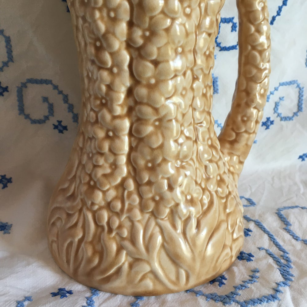 Image of Moulded flower jug