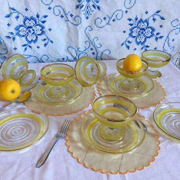 Image of Dessert dishes & plates