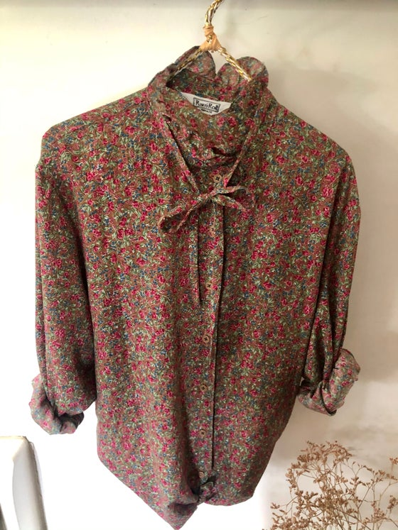 Image of Blouse vintage imprimé Liberty