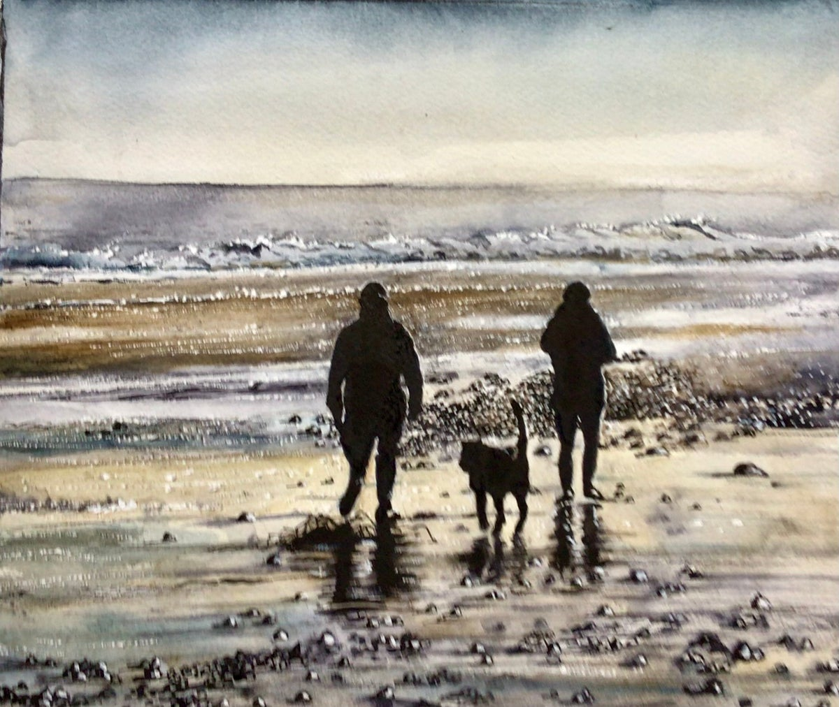 Image of 'The Sparkling Sea' (giclee print)