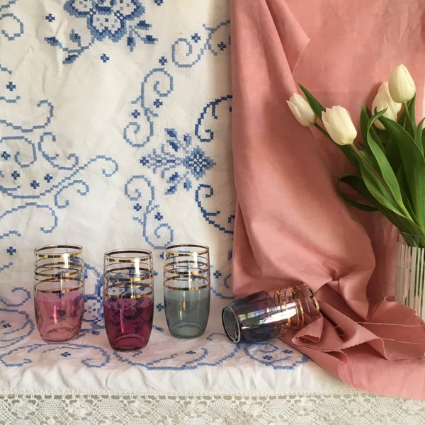 Image of Set of four glasses