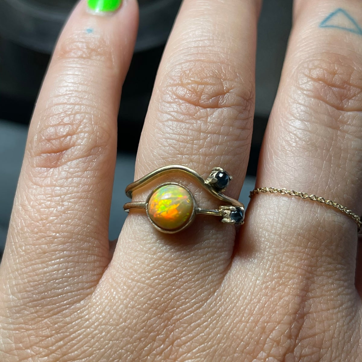 Image of fire & water ring