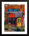 Chief Ike's Mambo Room Washington DC Giclée Art Print (Multi-size options)