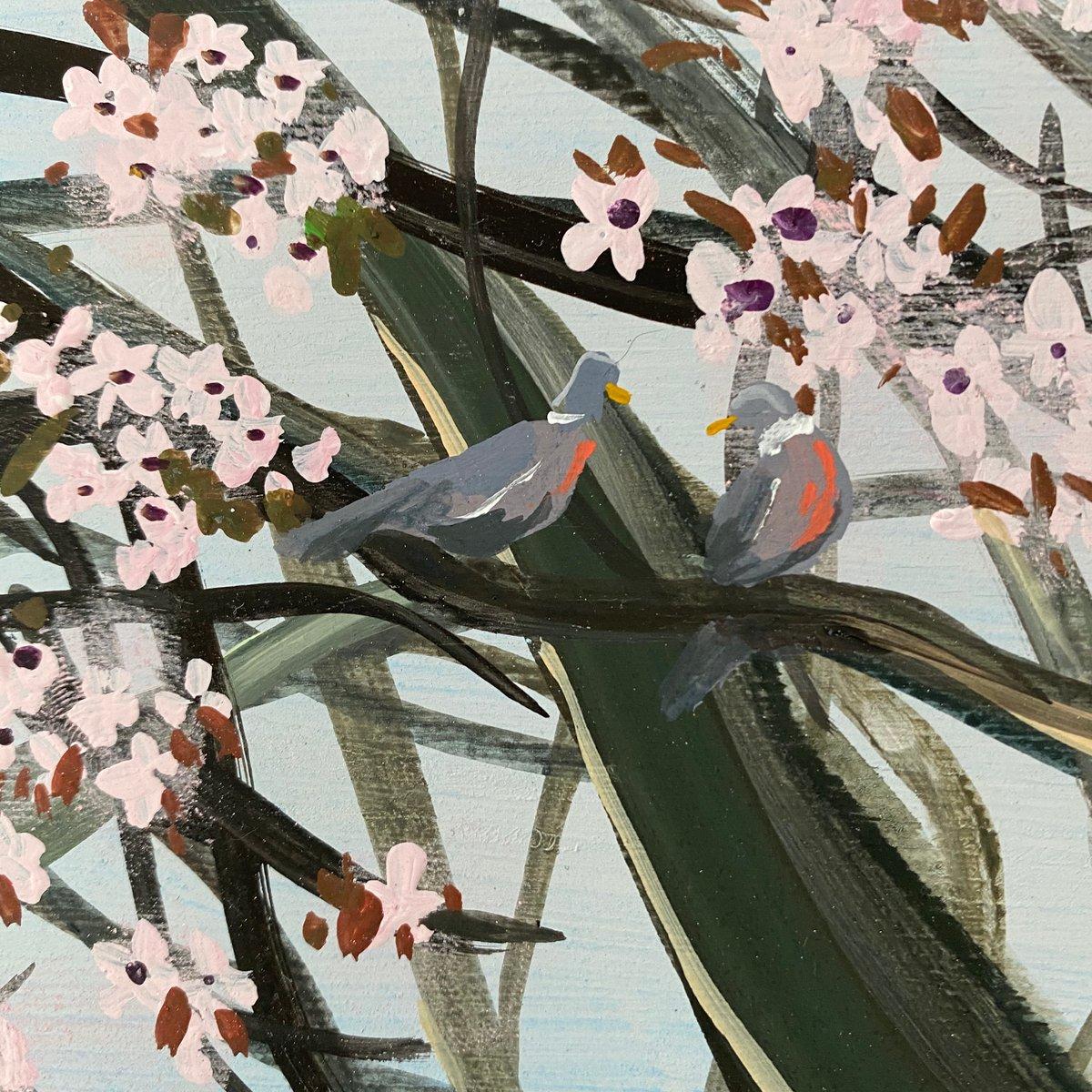 Image of Spring Trees - original artwork
