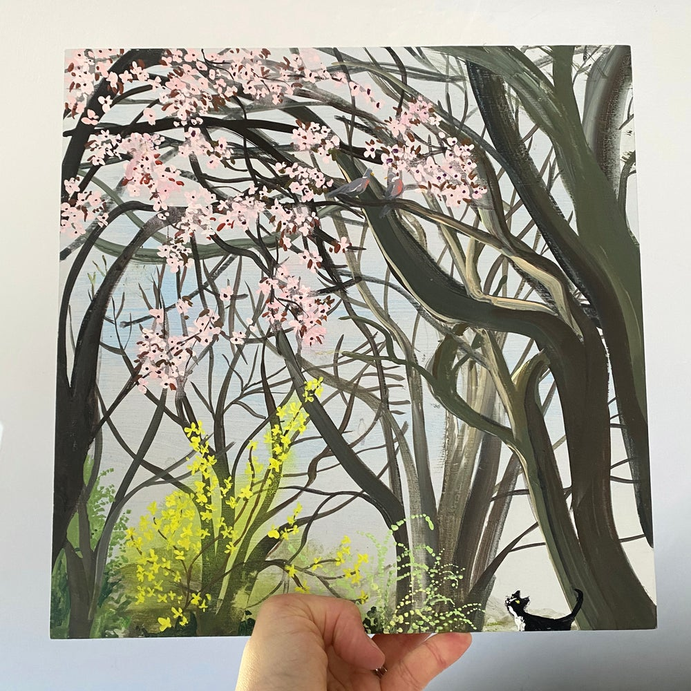 Image of Spring Trees - original artwork