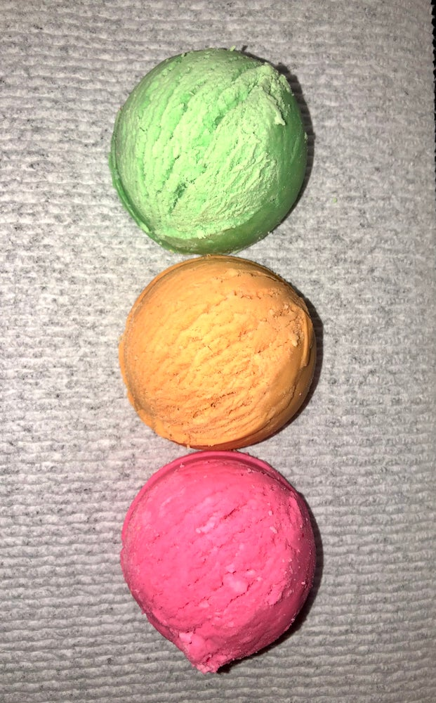 Image of Rainbow Sherbet Bubble Scoops