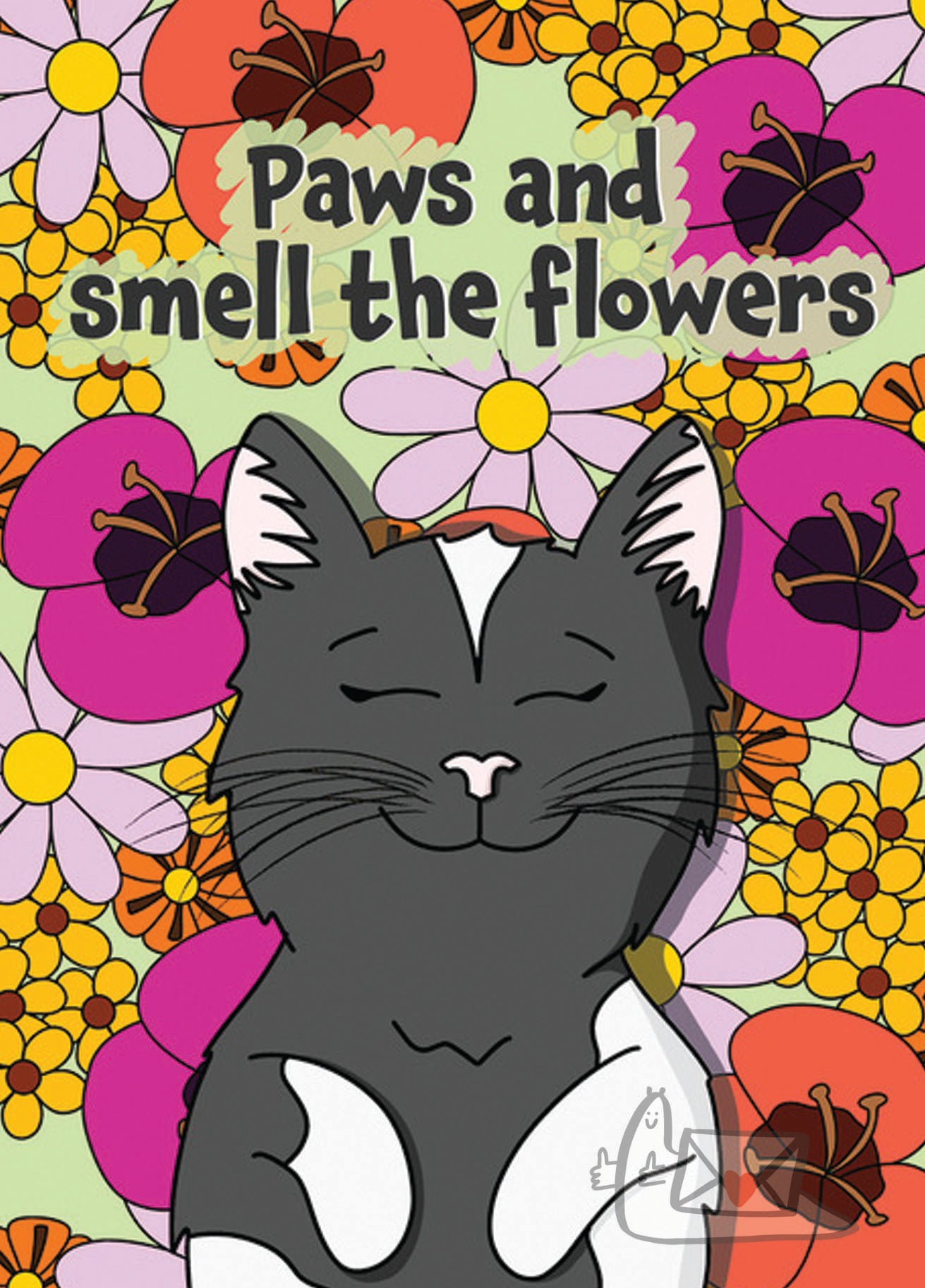 Paws and Smell the Flowers by BeckiLamby