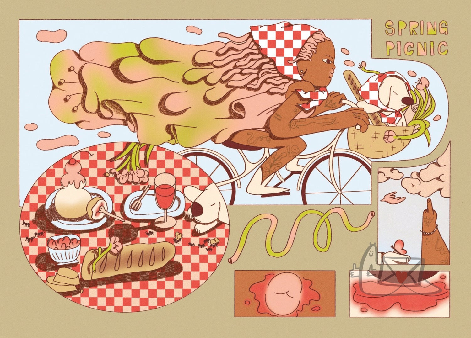 Spring Picnic by Intangible Objects