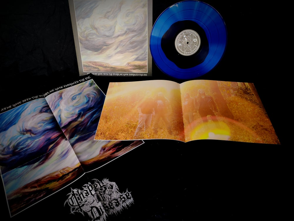 Image of ...And As We Have Seen The Storm, We Have Embraced The Eye Vinyl (Blue and Black Split)