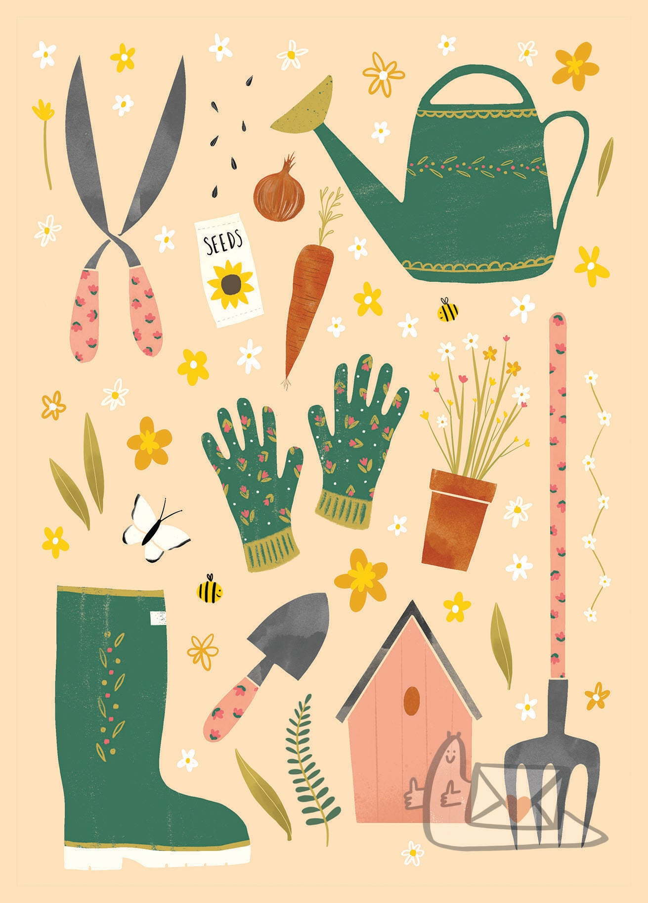 Spring into Action by Lucy Olivia Design