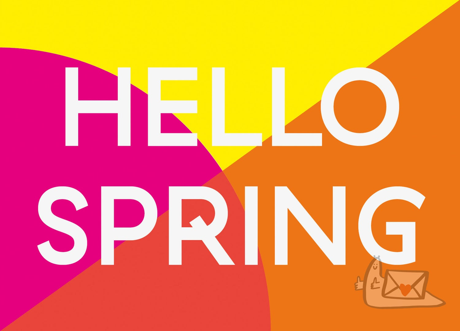 HELLO SPRING by Abby Sumner