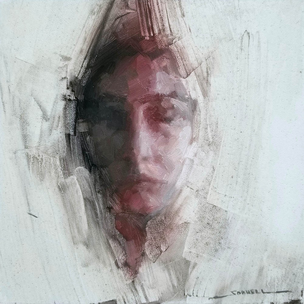 "Image of ""Transcend"" 8x8 inch 