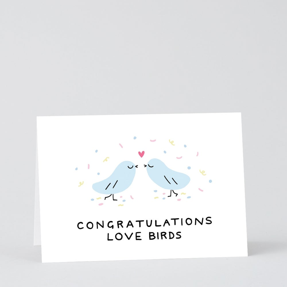 Image of Love Birds Card