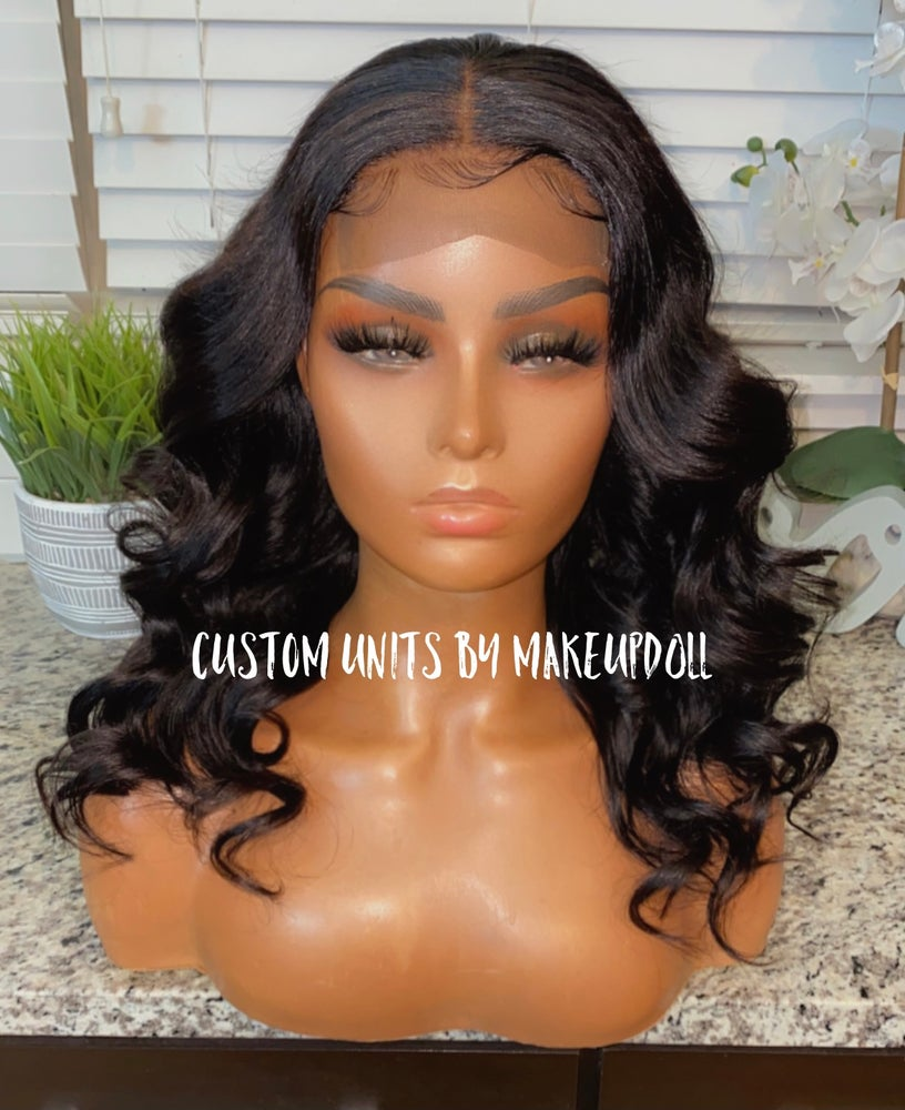 "Image of Brazilian Body Wave 16"" Lace Closure Wig"