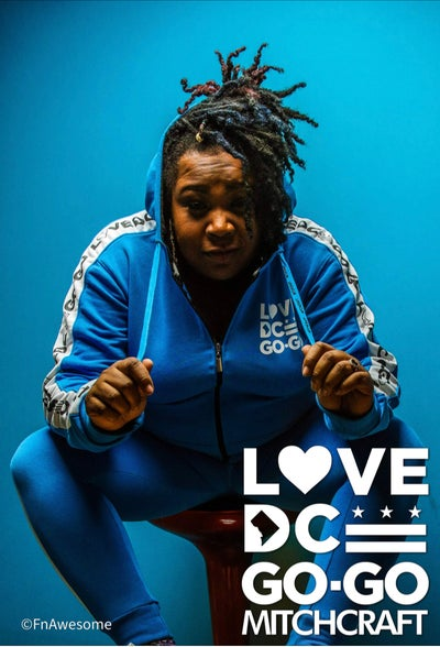 Image of LOVEDCGOGO CB Blues  Track Jacket