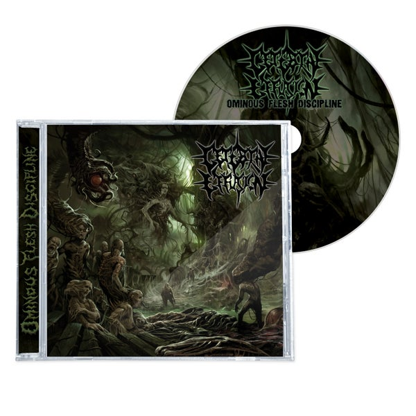"Image of CEREBRAL EFFUSION ""OMINOUS FLESH DISCIPLINE"" CD"