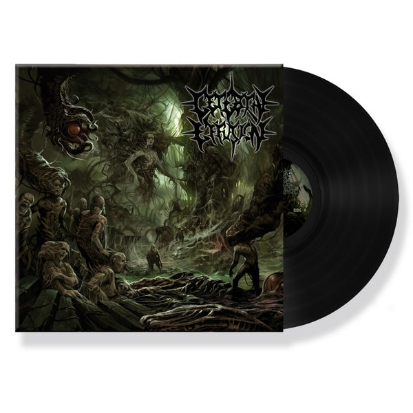 "Image of CEREBRAL EFFUSION ""OMINOUS FLESH DISCIPLINE"" VINYL"