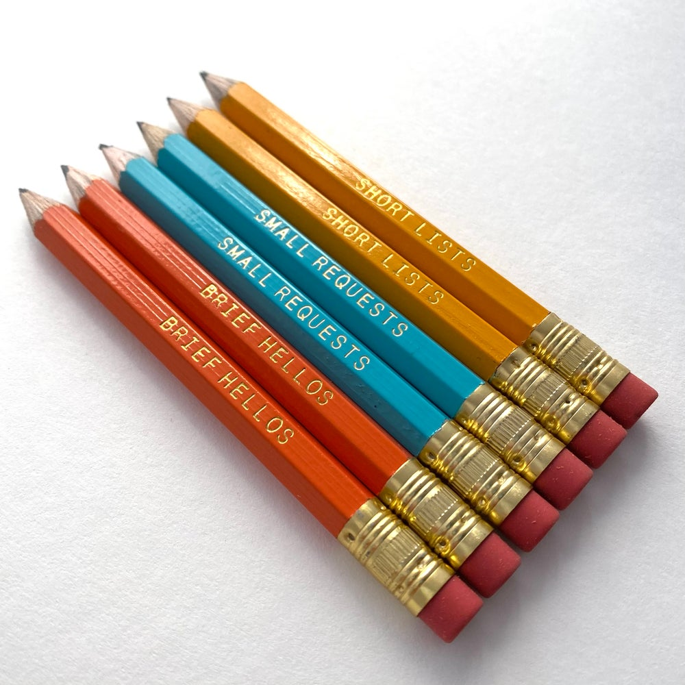 Image of Tiny Pencil Set