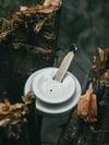 Den x Psyc Morotarium Coffee lid Palo Santo and Incense holder