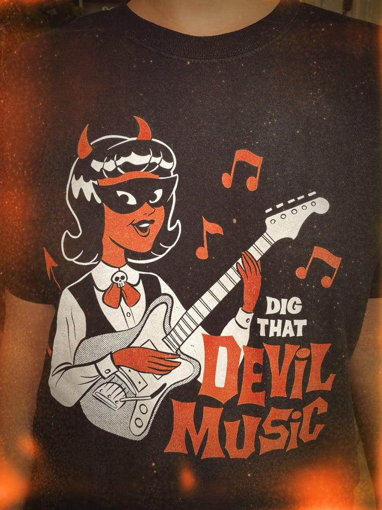 Image of Devil Music Tee